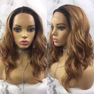 Accessories - Siona   Synthetic Lace Front Wig Honey Blonde